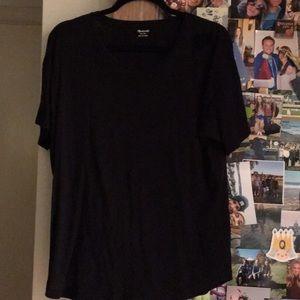 Madewell black tee shirt.